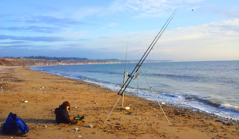 Bridlington North Beach Fishing