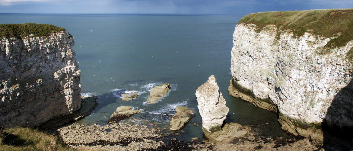 Flamborough Chalk Stack