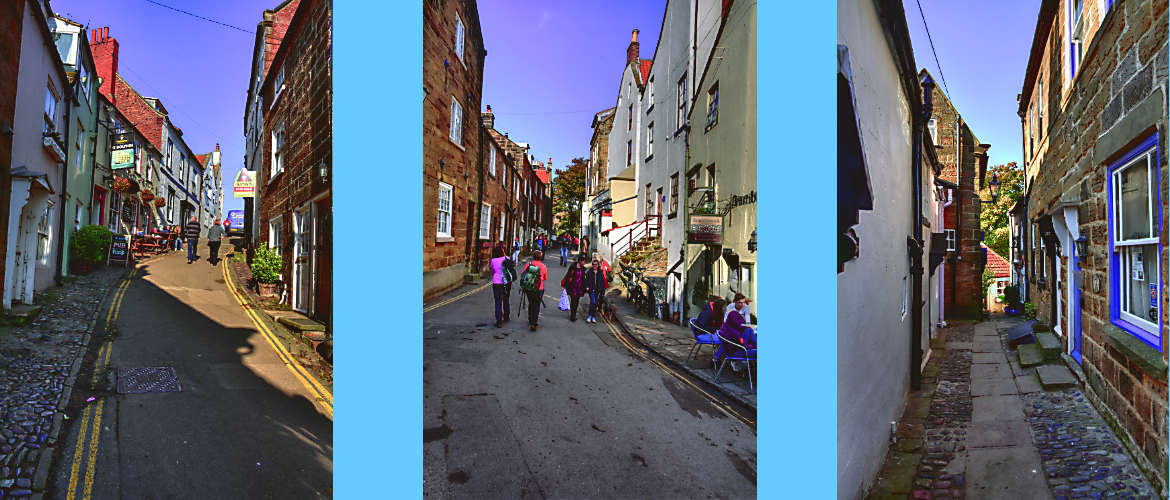 Robin Hoods Bay narrow streets